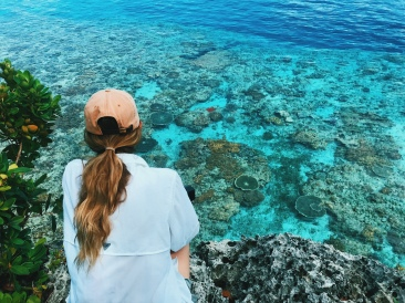 Views of the Marine Sanctuary, Apid Island