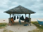 Clean up at the beach, swim at the beach, sleep at the beach